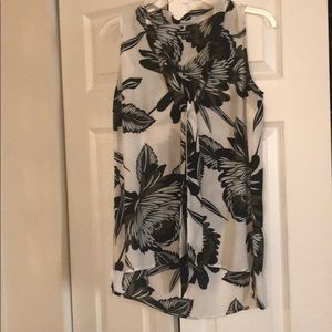Women's Sleeveless Top with Neck Tie size  XS